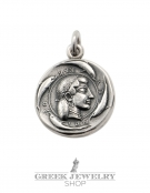 608 Syracuse Arethousa/Artemis/Persephone coin pendant