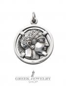 773 Athens tetradrachm, Athena & Owl of wisdom exquisite coin pendant