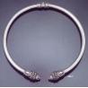 236/T XLarge Lion torc collar necklace