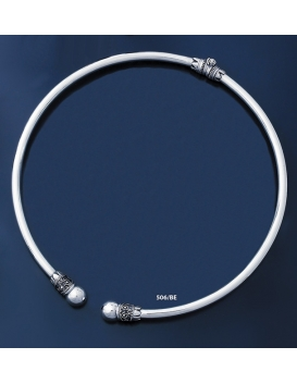 506/BE Impressive Solid Silver Ancient Collar Necklace (L)