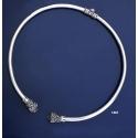 1061 Lion Torc Collar Necklace (L)