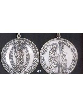 47 XL Venetian Ducat pendant