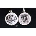 55 Delphi coin Ram & dolphins