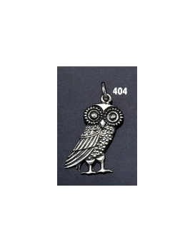 404 Wise owl of Athena pendant (medium size) pendant