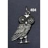 404 Wise owl of Athena pendant (medium size) pendant