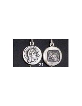 71 Athens tetradrachm, Athena & Owl of wisdom