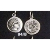 84/B Chalkidian League god Apollo and Lyre/kithara
