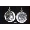 275 Chalkidian League god Apollo and Lyre/kithara