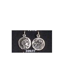 309/CC Athens tetradrachm, Athena & Owl of wisdom