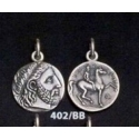 402/BB Phillip II Macedon coin depicting Zeus