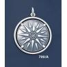790/A Sun/Star of Macedonia mounted on bezel (XL)