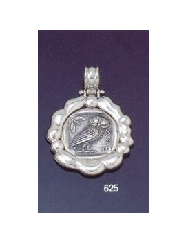 625 'Wax seal bezel' The wise Owl of Athena