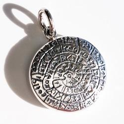 Phaistos disk (disc) jewelry