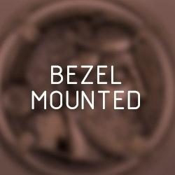 Bezel mounted coin pendants