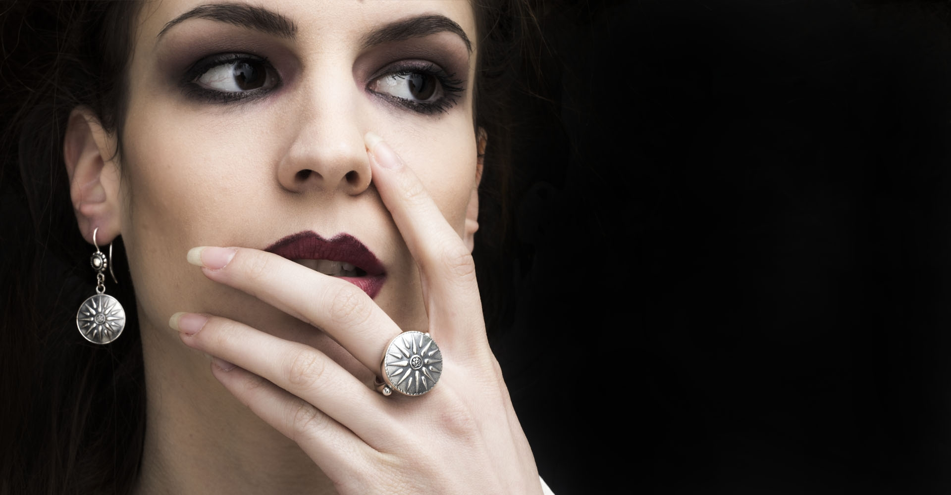Greek Silver Rings inspired from ancient Greece and Grecian jewelry
