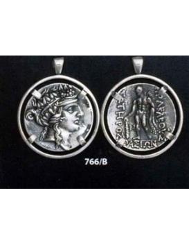 766/B Thassos tetradrachm Dionysus & Hercules