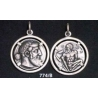 774/B Dionysus/Bacchus phallic Satyr coin