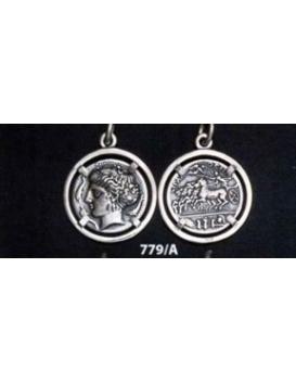 779/A Syracuse dekadrachm - Arethousa/Persephone/Artemis