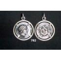 782 Chalkidian League god Apollo and Lyre/kithara