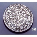 383 Phaistos disc brooch