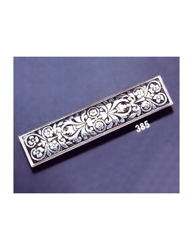 385 Ornate sterling brooch