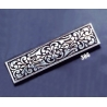 386 Ornate sterling brooch