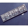 387 Ornate sterling brooch