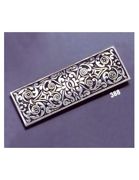 388 Ornate sterling brooch