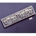 389 Ornate sterling brooch