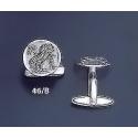 46/B Silver Owl of Wisdom cufflinks (M)