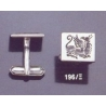 196X Roman griffon (griffin) intaglio seal cufflinks
