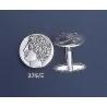 275/X Greek God Apollo coin cufflinks