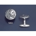 1053 Phillip II Macedon Depicting Zeus Coin Cufflinks (M)