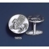 1055 Pegasi/Pegasus Silver Coin Cufflinks