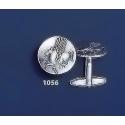 1056 PegasiPegasus Silver Coin Cufflinks (M)