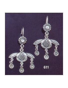 611 Minoan Malia Bees Chandelier Earrings