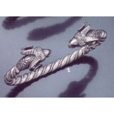 2 Ram torc bracelet