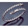 165 Hand-Coiled Double Headed Snake Bracelet