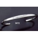 347/S Solid Sterling Silver Band Bracelet