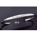 347/S Solid Sterling Silver Band Bracelet