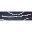 804 Greek-Key (meandros) bracelet - double key Wide