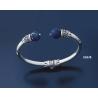 505/B Impressive Lapis Lazuli Silver Bracelet