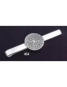454 Sterling Silver Tie-Bar with Phaistos Disc