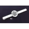 "463 Sterling Silver Tie-Bar with Minoan Fresco/Wall painting of Fyra """"Santorini"""" Intaglio Seal"
