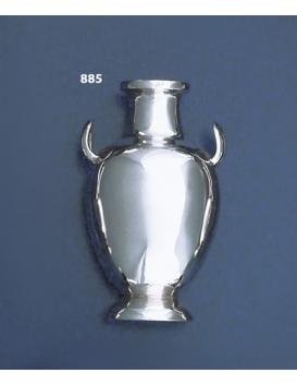 885 Sterling Silver Miniature Amphora Vase