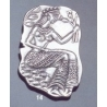 14 La Parisienne, Knossos wall painting brooch