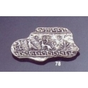 78 Fresco Wall painting brooch
