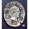 93 Iniohos charioteer of Delphi brooch