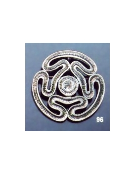 96 Circular Meander/Meandros Greek key design