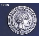 101/N Athena Shield Brooch